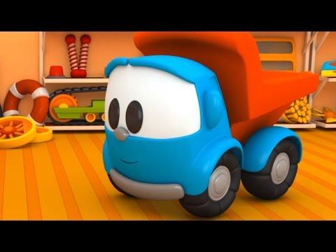 Cartoons für Kinder: Leo Junior baut ein Hovercraft - Deutsch lernen mit Zeichentrickfilmen