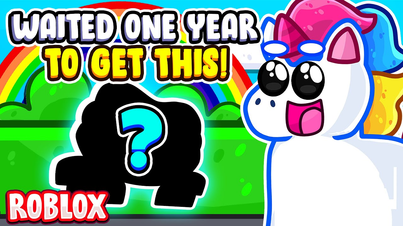 I Waited *ONE YEAR* for this LEGENDARY DIAMOND PET in Adopt Me! Roblox Adopt Me