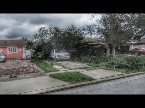 Hurricane IRMA During and Aftermath In Orlando