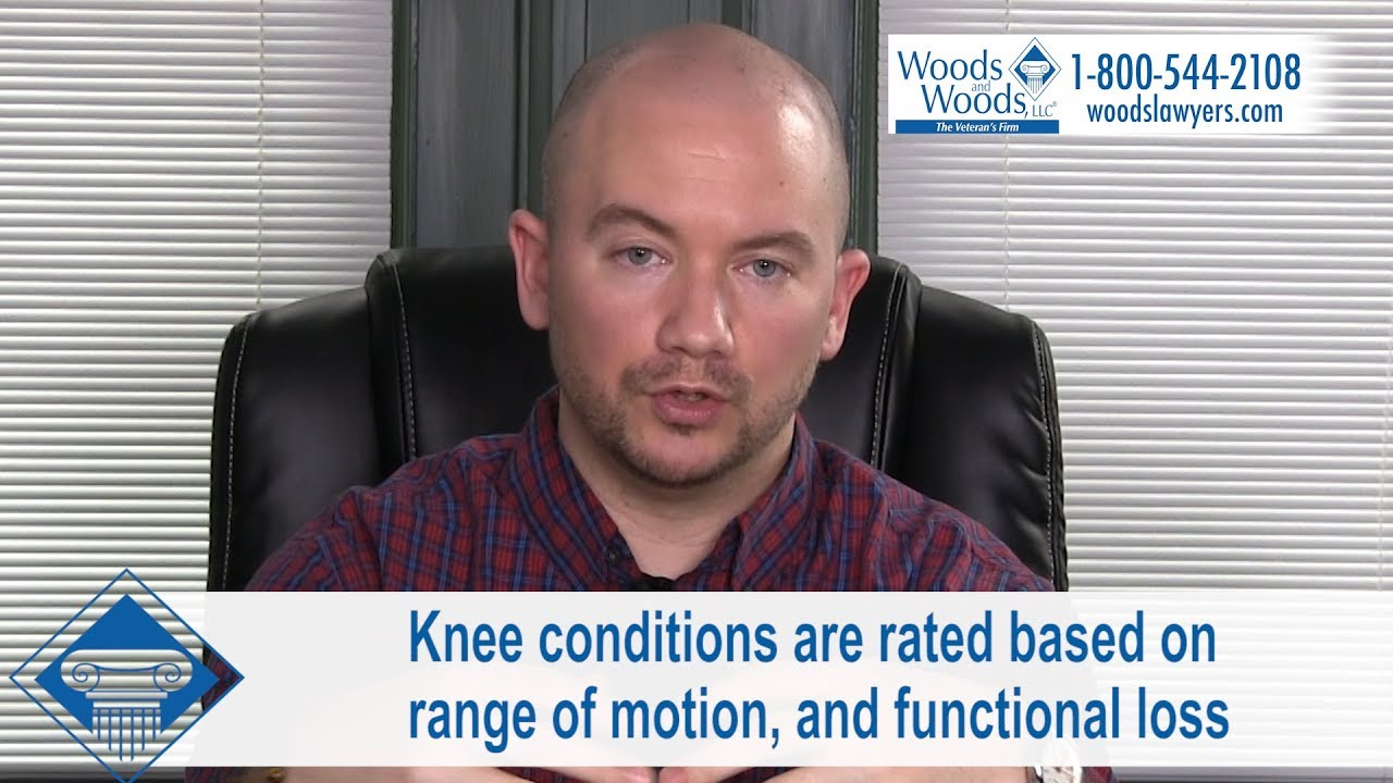 A Vet Might Get VA Disability Benefits for Knee Pain from a Variety of  Different Conditions