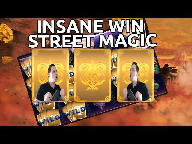 Massive win on Slot Street Magic from Play'n GO!