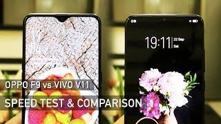 OPPO F9 vs Vivo V11 SPEED TEST   Zeibiz