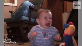 Funny Baby Video - Reaction to Baby Toys