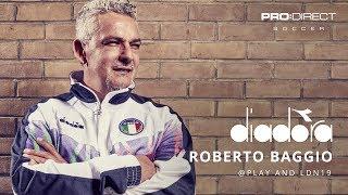 PRO DIRECT | Roberto Baggio: Exclusive Diadora Launch Event with James Richardson