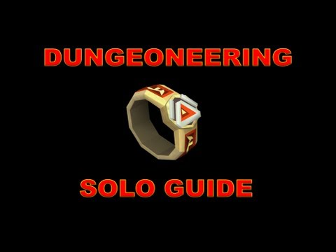 RuneScape 3: 1-99 F2P/P2P Solo Dungeoneering Training Guide