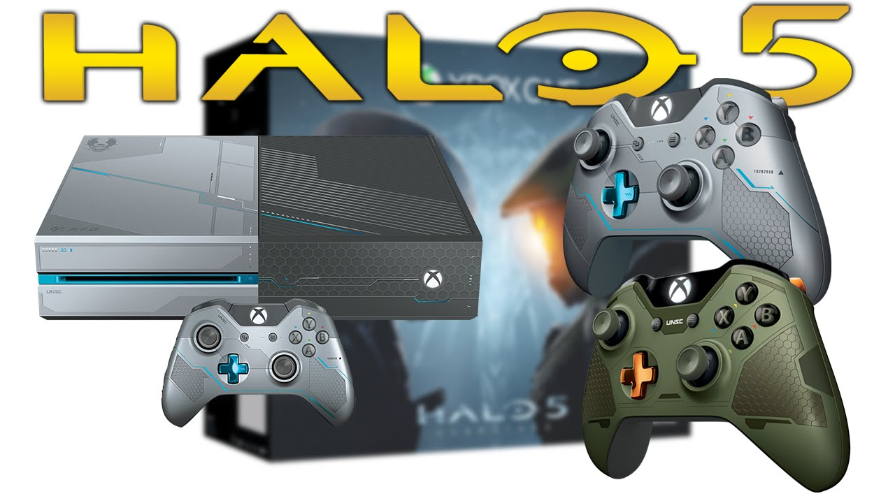 Halo 5 Limited Edition Xbox One Console Le Controller Details Halo 5 News