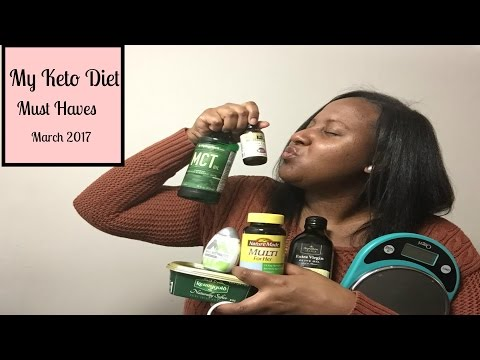 my-keto-diet-must-haves:-march-2017