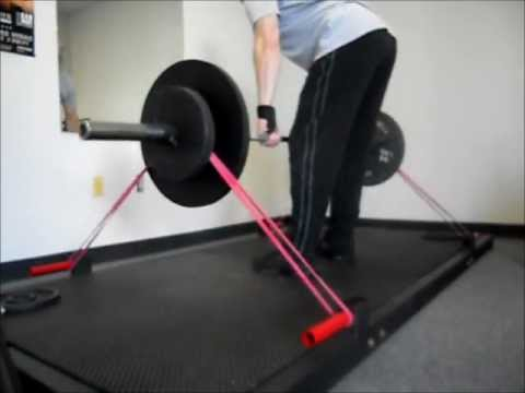 4x8 Deadlift Platform With Band Pegs Strength Training