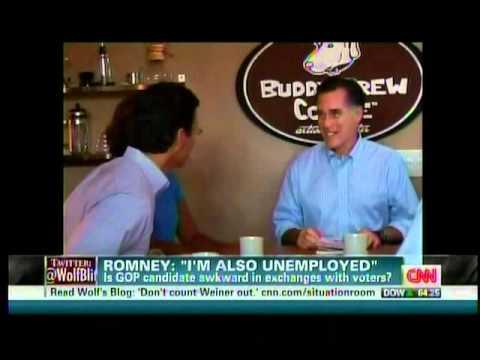 Romney - I'm Also Unemployed