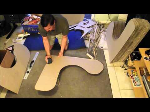 Bluetooth enabled cardboard chair