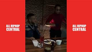 French Montana gets Salt Bae to cook for him