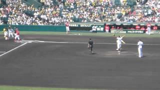 2015年5月10日(日)に阪神甲子園球場で行われた、阪神タイガースVS広島カ...