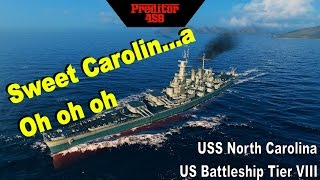 World of Warships - USS North Carolina - Sweet Carolin...a