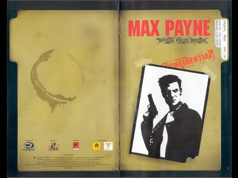 Max Payne Game Manual Ps2 Instruction Booklet Youtube