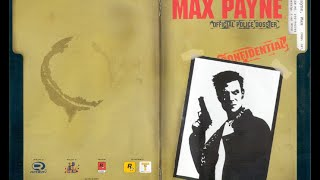 Max Payne - Game Manual (PS2) (Instruction Booklet)