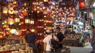 Isztambul  9. Nagy bazár és a füszer bazár 160 videó