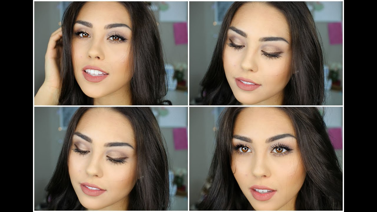 Makeup Tutorial For Brown Eyes Products To Enhance Brown Eyes