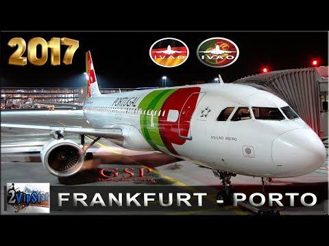 NOVO SIMULADOR DE VOO 2017 | A320 TAP | FRANKFURT - PORTO | IVAO