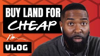 Wholesaling Real Estate | Bought Land for $250!! | Vlog 008