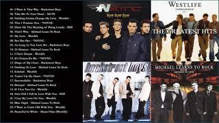 Westlife, Backstreet Boys, NSYNC, MLTR Greatest Hits Playlist Full album 2020 - Best of NSYNC