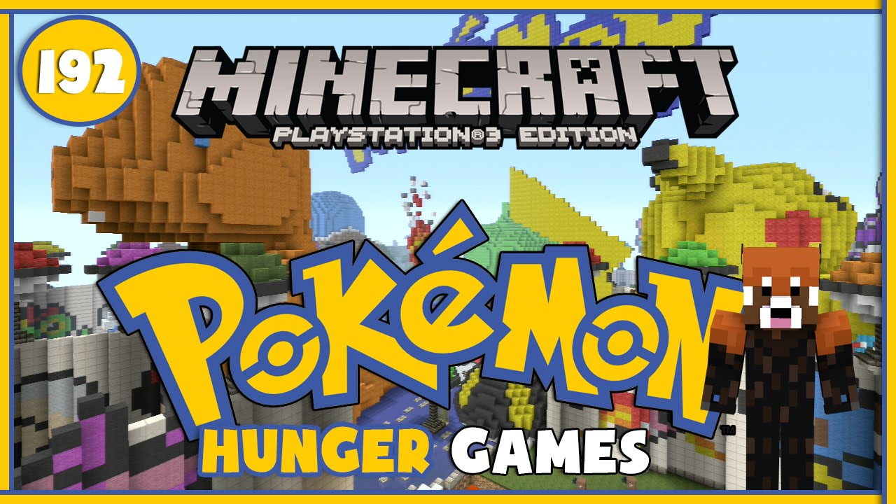 how to get hunger games minecraft ps3