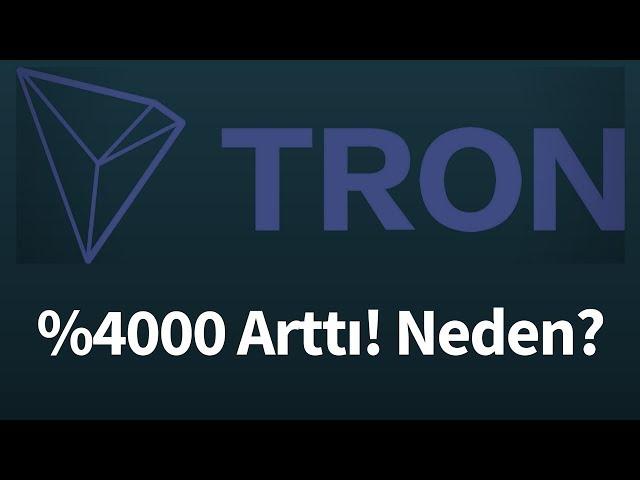 TRON (TRX) Nedir? Neden Artt?? TRON Teknik Analiz (26 Aral?k 2017)