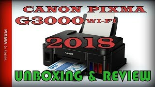 Canon G3000 2018 Unboxing Review & First Impression