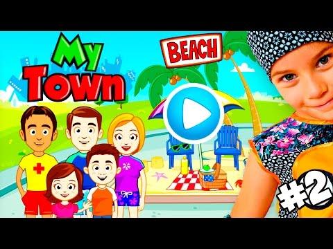 Видео прикол: очень смешной случай на пляже