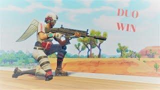 MY AIM IS SO BAD! DUO WIN! (FORTNITE GAMEPLAY)