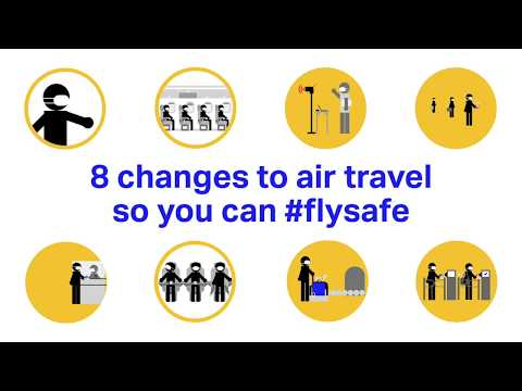 8 changes to air travel so you can #FlySafe