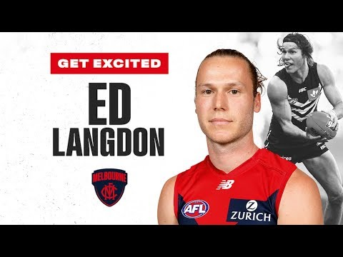 Get Excited, Demons: The best of recruit Ed Langdon | Trade Period | 2019 | AFL