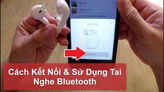 Hướng Dẫn Sử Dụng Tai Nghe Bluetooth i12 Kết Nối Điện Thoại - Cách Làm Video Tăng Sub Youtube nhanh