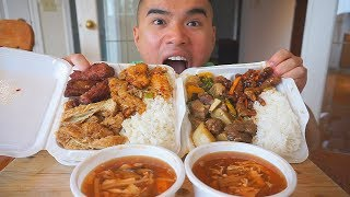 Eating AUTHENTIC CHINESE FOOD | Mukbang | QT
