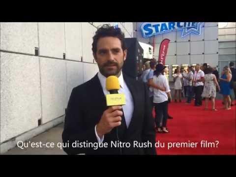Première de Nitro Rush - Entrevue avec Guillaume Lemay-Thivierge streaming vf
