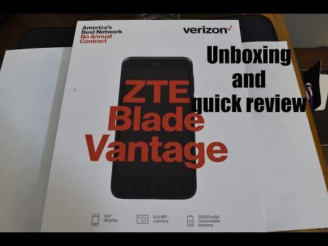 ZTE Blade Vantage Video clips - PhoneArena