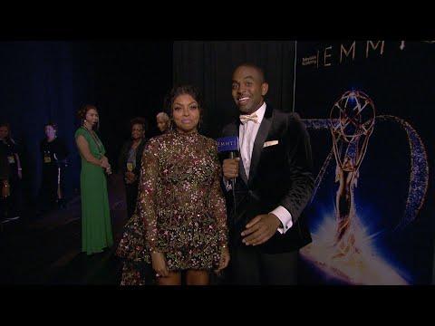 70th Emmy Awards: Backstage LIVE! with Taraji P Henson