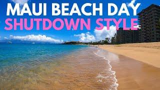 Ka'anapali, Maui Beach Day: Beach Walk and Snorkeling on an Empty Ka'anapali Beach