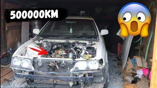 Что Стало с Двигателем через 500 000км! Путь к Авто мечты (1 часть) Чайзер 100 1jz ge vvti