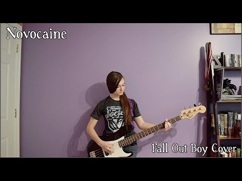 Novocaine by Fall Out Boy Bass Cover