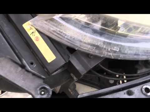 Adaptive headlights BMW