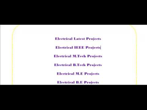 POWER ELECTRONICS PROJECTS IN ADELAIDE