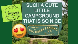 Two Rivers Landing RV Resort in Sevierville, TN campground review