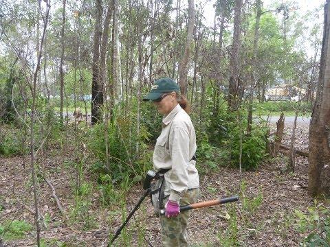 WW2 Relic Hunt: Australian Army Tent Encampment Area: Garrett AT Pro AT Gold.
