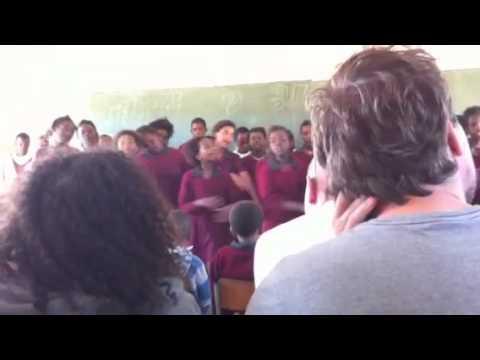 School concert in chintsa