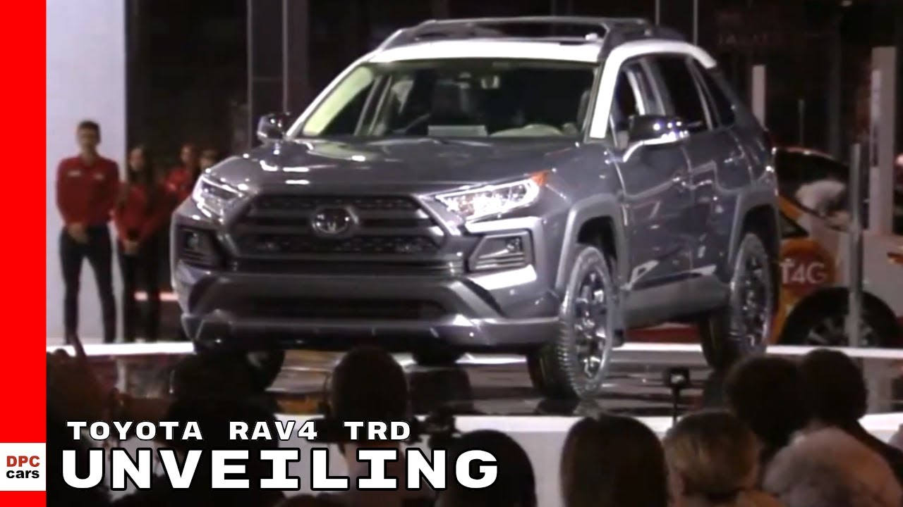 2020 Toyota RAV4 TRD Off-Road Unveiling