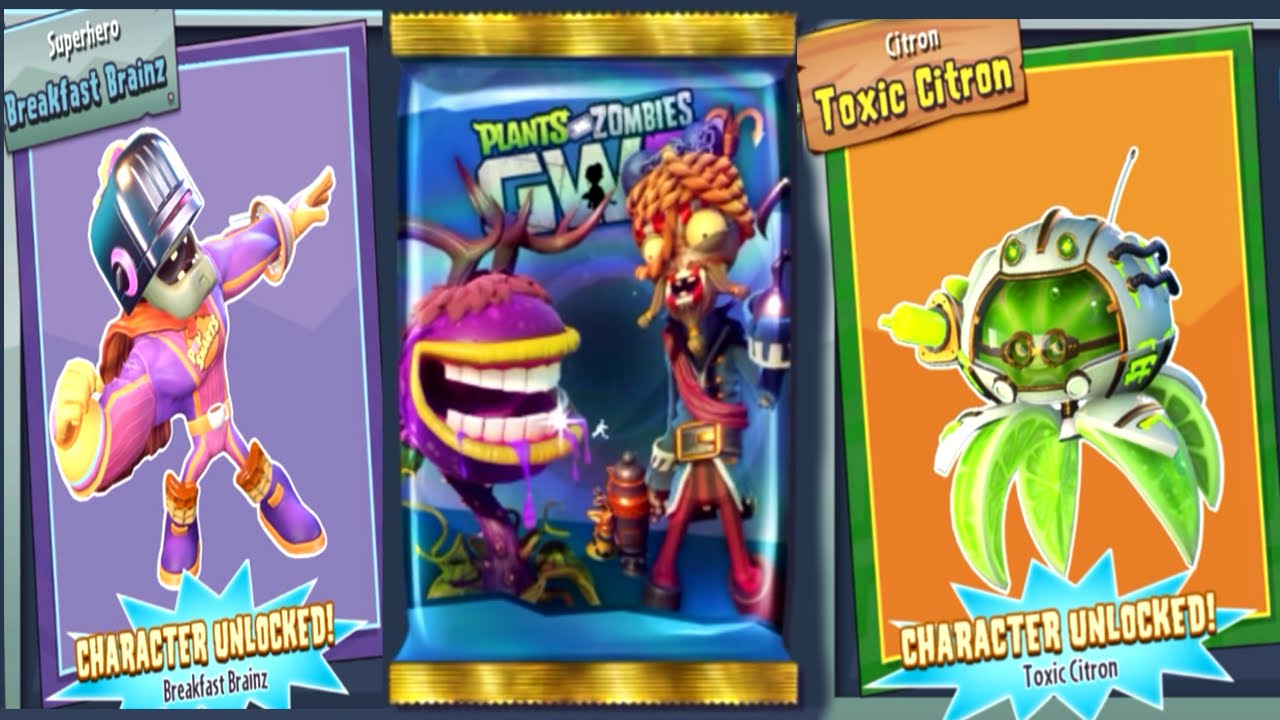 Citron from plants vs zombies garden warfare 2 plants vs zombies - Pvz Garden Warfare 2 All Zombopolis Packs Toxic Citron Brainz Coins Youtube