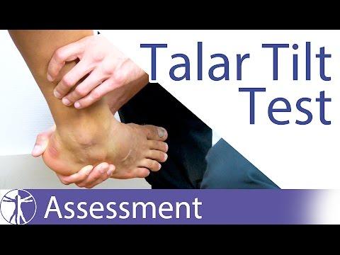 the-talar-tilt-test- -lateral-ankle-sprain
