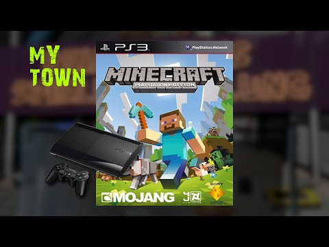 Minecraft Project Town [Playstation 3]