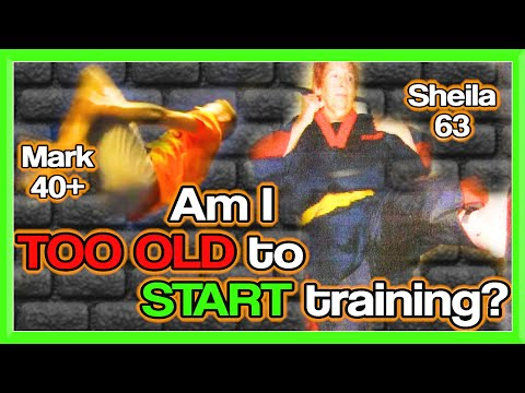 TOO OLD to Train in Martial Arts? | GNT Q&A