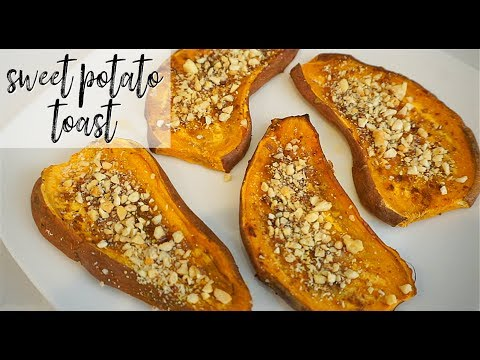 SWEET POTATO TOAST EASY, VEGAN